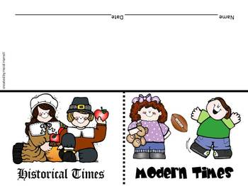 Historical and Modern Times Sort FREEBIE