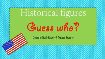 Historical figures Guess Who?