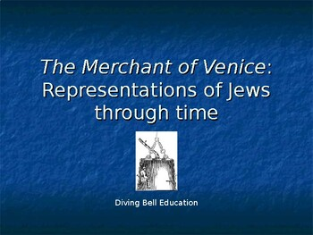 Historical representations of Jews - accompanies Merchant of Venice unit