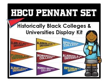 SWAC College Pennant Set