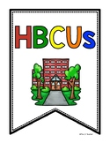 Historically Black College and University HBCU Research Pe