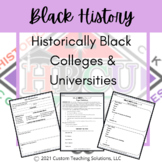 Historically Black Colleges and Universities Lessons & Res