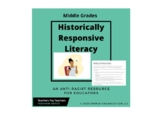 Historically Responsive Literacy Lesson (Middle Grades)