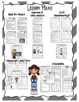 Histories Mysteries News Segment PBL (5 student job packets, 25 lesson plans)
