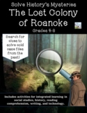 Histories Mysteries The Lost Colony of Roanoke