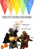 Histories REAL Wizards - Wizard Wars - The Alchemists - Paired Reading - NO PREP
