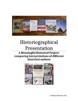 Historiographical Presentation