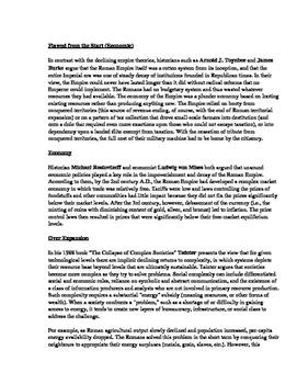 Historiography DBQ on Rome