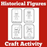 Historical Figures   Preschool Kindergarten 1st Grade   Activity