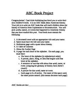 History ABC Book
