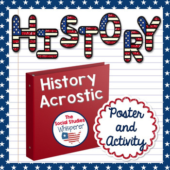 History Acrostic Poem