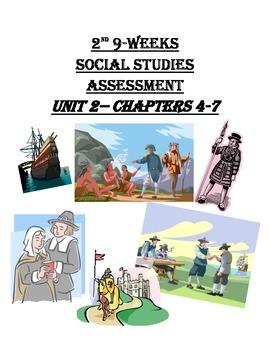 History Alive- America's Past- 5th Grade Unit 2 Assessment