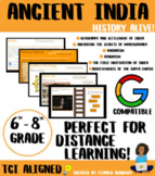 History Alive! Ancient India HyperDoc (DISTANCE LEARNING)
