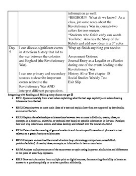 History Alive Chapter 10 Lesson Plan Companion