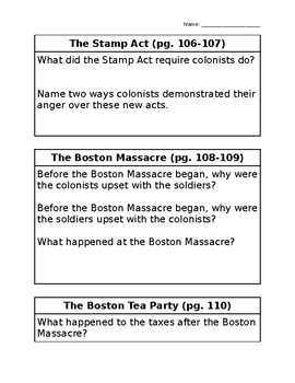 History Alive: Chapter 10 Questions