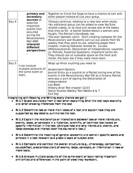 History Alive Chapters 11, 12, and 13 Lesson Plan Companion