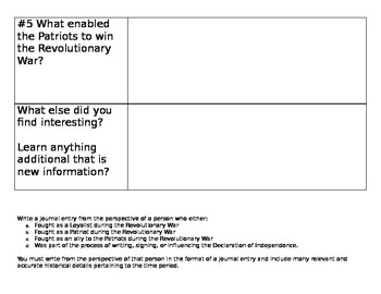 History Alive Chapters 11, 12, and 13 Recap and Exit Slip