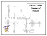 History Alive Unit 4: Ancient China Crossword Puzzle