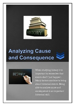 History: Analyzing Cause and Consequence
