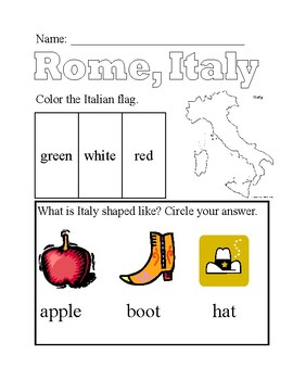 History: Ancient Rome notes; Differentiated; Modified Special Ed