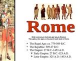 History: Ancient Rome