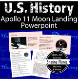 History: Apollo 11 Moon Landing PowerPoint Presentation 5 Worksheets