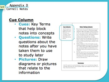 History Appendix for Interactive Notebook