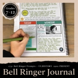 History Bell Ringer Journal for the Entire School Year: 27