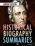 Andrew Jackson: History, Biography Webquest Activity