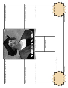 Christopher Columbus: History Biography Summary Webquest