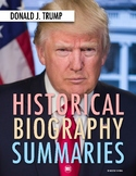 Donald Trump: History, Biography, Webquest Activity (PDF &