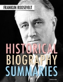 "History Biography Summary: Franklin Delano Roosevelt ""FDR"""