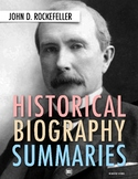 John D Rockefeller: Biography Summary Webquest (PDF & Goog