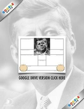John F. Kennedy: History, Biography Webquest Activity on JFK