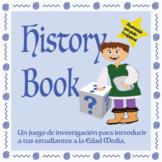 History Book – Adivina Quién /Juego de Investigación de la Edad Media / ELA CCSS