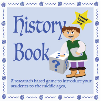 History Book – Guess Who! /Middle Ages Research Game/ ELA CCSS Aligned!