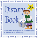 History Book – Guess Who! /Middle Ages Research Game/ ELA