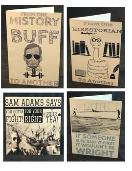 Historical Greeting Cards for Your Students!
