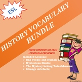 History Bundle (save 2 bucks buing all of them)