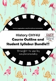 History CHY4U Course Outline and Student Syllabus (Ontario