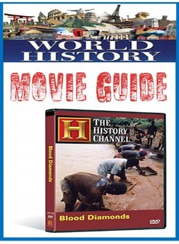 History Channel Blood Diamond Documentary Movie Questions for Imperialism unit