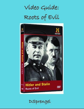 History Channel Roots of Evil: Hitler and Stalin (2002) Video Movie Guide