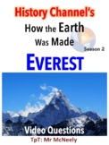 History Channel's How the Earth Was Made: Everest Video Questions