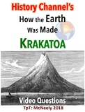 History Channel's How the Earth Was Made: Krakatoa Video Questions