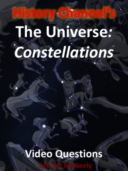 "History Channel's ""The Universe: Constellations"" Video Questions"