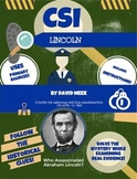 History Crime Scene Investigation: Abraham Lincoln Assassination CSI