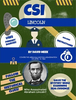 History Crime Scene Investigation: Abraham Lincoln Assassi