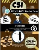 History Crime Scene Investigation: CSI Hamilton Duel At Dawn