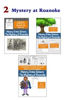 History Crime Solvers Bundle to Save