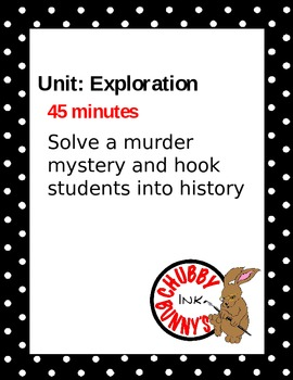 History Crime Solvers: Introduction to the School Year